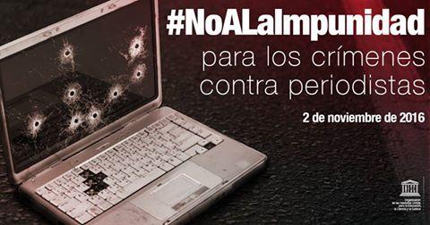 UNESCO : Dia Internacional para poner fin a la impunidad de los crímenes contra periodistas - 2 de noviembre