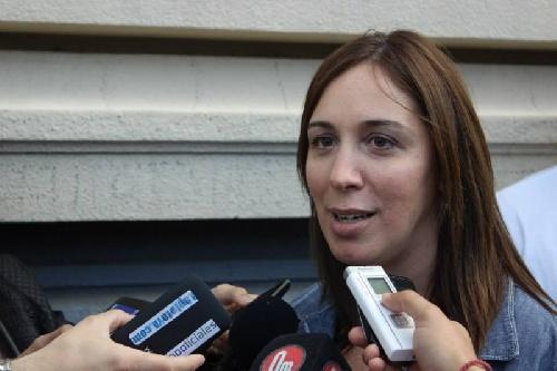 Encontraron a dos agentes de la Policía Bonaerense hurgando en el despacho de la gobernadora María Eugenia Vidal