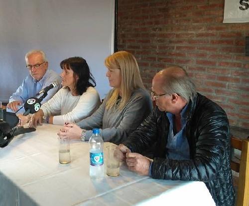 """Margarita Stolbizer en Pigüé:  """"no nos arrepentimos de haber conformado el frente electoral con Massa"""""""