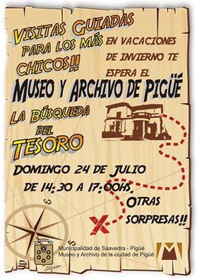 Dedicado por el Museo Pigüé para los más pequeños en sus vacaciones