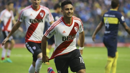 AFA - 1ra División - River Plate venció a Boca Juniors en La Bombonera y se aproxima a la punta.