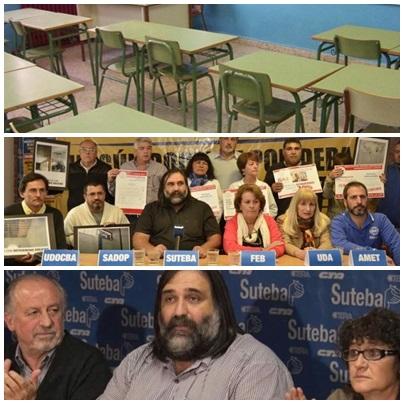 Una semana de solo 2 dias para las escuelas cuyos docentes paren