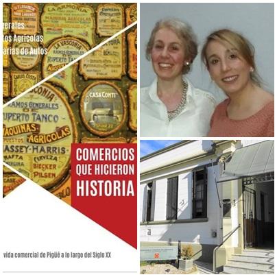 """Pigüé: presentación del libro """"Comercios que hicieron historia"""" y muestra temática"""