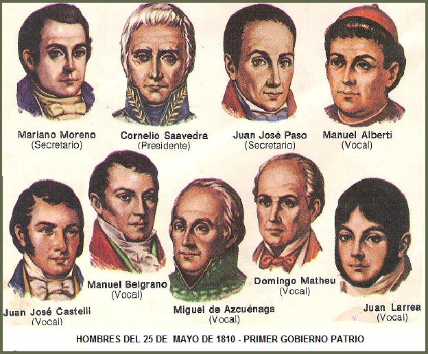 Memorando patriotas de la Revolución de mayo de 1810 :  Mariano Moreno