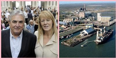 El senador Jaime Linares en defensa de los puertos bonaerenses
