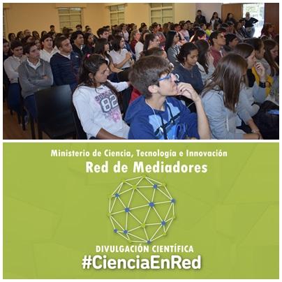 """Divulgación Científica: la Red de Mediadores presentó el ciclo """"Científico se Hace"""" en Carhué"""