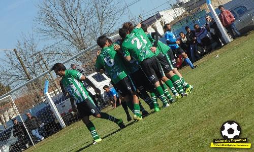 Liga Cultural Tres Lomas - Dura derrota de El Ceibo como local en Casbas con Lavernhe y Cabral en su formación.