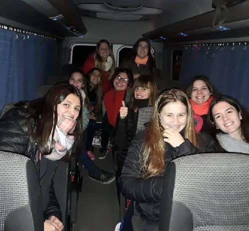Handball Femenino - Las Juveniles del Cef 83 participan de un Torneo Nacional.