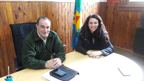 La vice presidente de la Cámara de Diputados bonaerense se reunió con el Pte del HCD de Saavedra Pigüé
