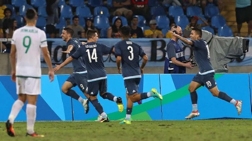 FUTBOL OLÍMPICO: Argentina se recuperó con un triunfo ante Argelia