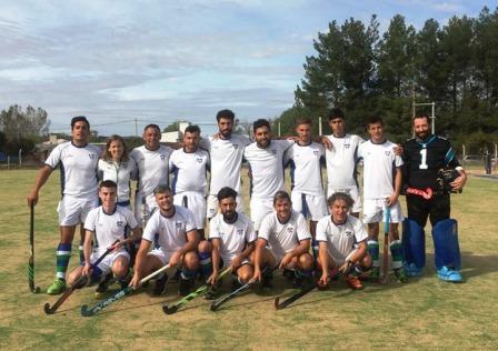 Hockey Masculino - La Barranca de Santa Rosa se presentó en nuestra ciudad.
