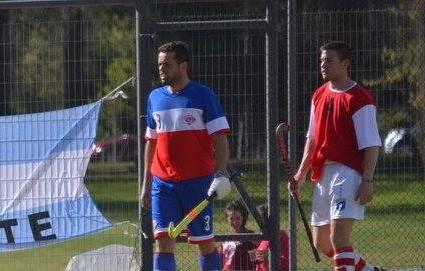 Hockey Masculino - Con goles de Oustry, Vallejo y Wagner el Cef 83 volvió al triunfo.