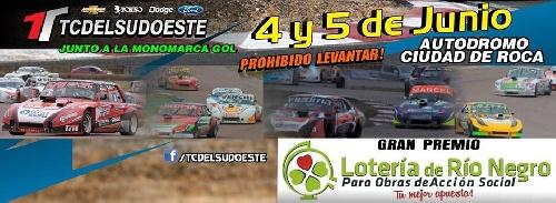 TC Del Sudoeste - La cuarta fecha se corre el próximo fin de semana en General Roca.