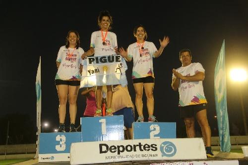 Atletismo - Maratón Me encanta Bolivar - Yani Clair primera en su categoría y 6ta en la General Damas.