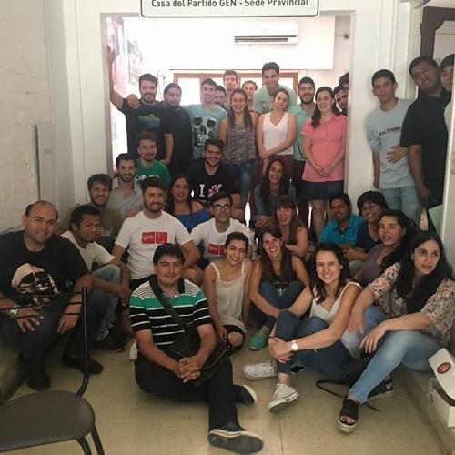 Plenario y autoridades de la Juventud del  GEN Bonaerense