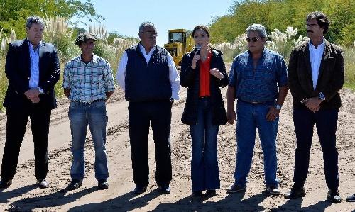 Sequía e inundaciones: Vidal prometió créditos y exenciones impositivas para los productores bonaerenses