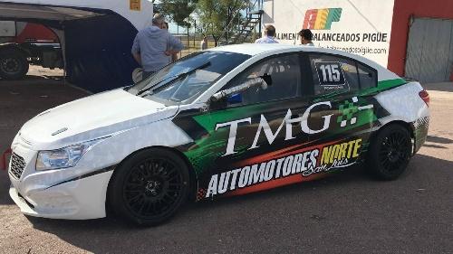 Turismo Nacional - Norberto Fontana probó su Chevrolet Cruze en Pigüé.