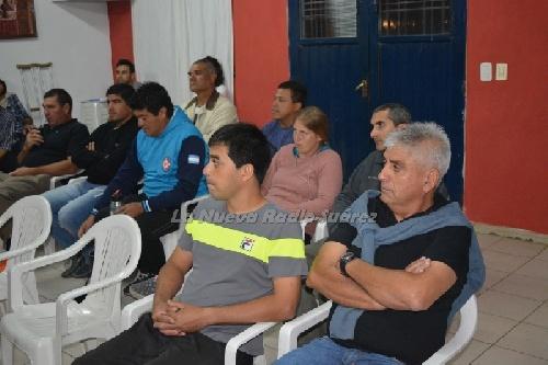 LRF - Capacitación de la Asociación Suarense de Arbitros.