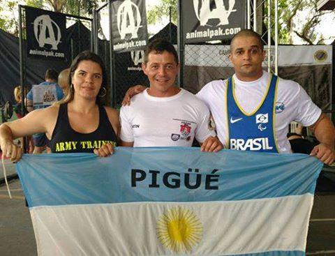 Martin San Felice medalla de oro sudamericana en su categoría de pesas