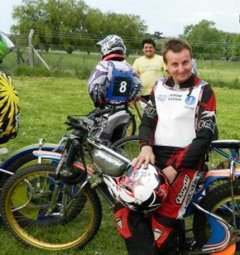 Speedway - Oscar Maurel volvió a competir en la especialidad.