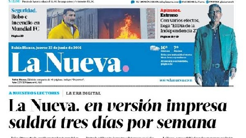 Avances en la negociación de la venta del diario La Nueva y tres radios de Bahia Blanca