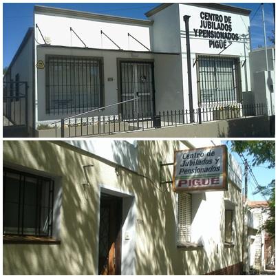 Centro de Jubilados y Pensionados de Pigüé: entrega plan Pami, sorteo y charla servicios Banco Nación