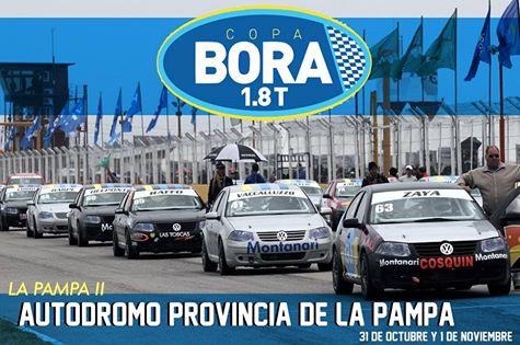 Copa Bora 1.8 - Marcelo Alaux debuta para la categoría en La Pampa