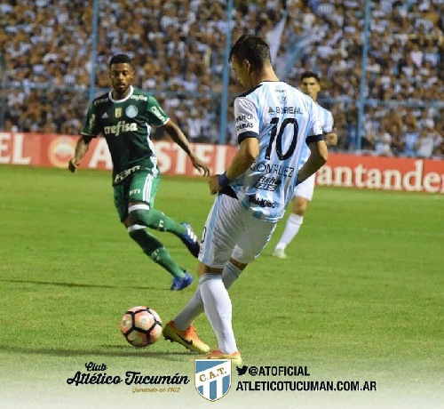 Copa Libertadores - Atlético Tucumán empató con Palmeiras en su debut zona de grupos.