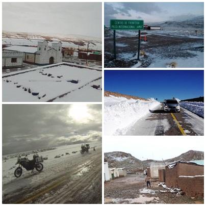 Insólito: nieva en Jujuy en pleno verano