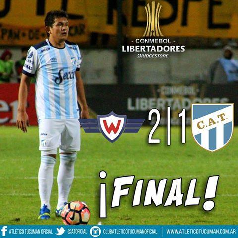 Copa Libertadores - Atlético Tucumán no pudo en Cochabamba con Jorge Wilstermann.