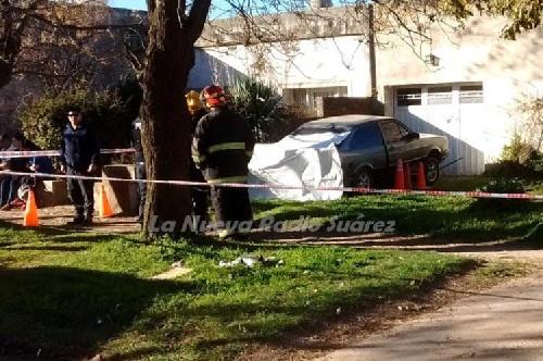 Tragedia en Coronel Suárez: joven muere aplastado por su propio auto