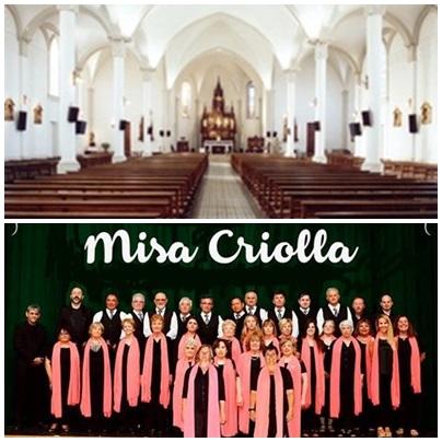 Misa Criolla en la Parroquia Nuestra Señora de Luján de Pigüé