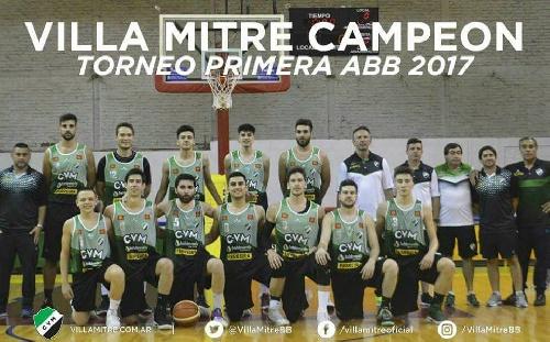 Basquet Bahiense - Villa Mitre resultó ser el campeón 2017 al vencer a Bahiense del Norte.