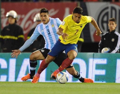Eliminatorias Rusia 2018 - Derrota de Argentina ante Ecuador por dos a cero.
