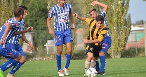 Afa - Inferiores - Valentín Otondo convirtió un gol en quinta para Olimpo. La jornada de inferiores.