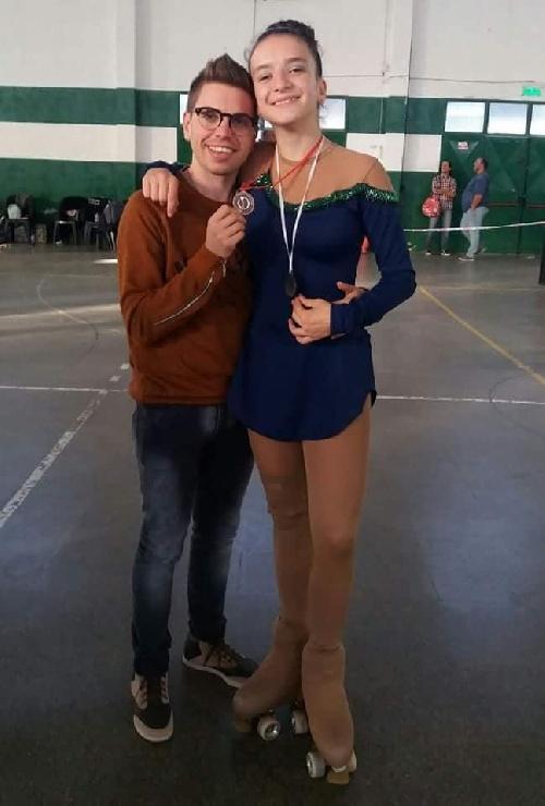 Patín - Destacada actuación de las patinadoras locales en el Provincial de Trenque Lauquen.