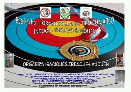Arquería - Participación próxima de arqueros locales en Trenque Lauquen.