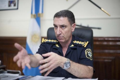 Bressi  pasó a retiro; la gobernadora bonaerense desplazó al jefe de la Policía en medio de otro escándalo de corrupción en esa fuerza