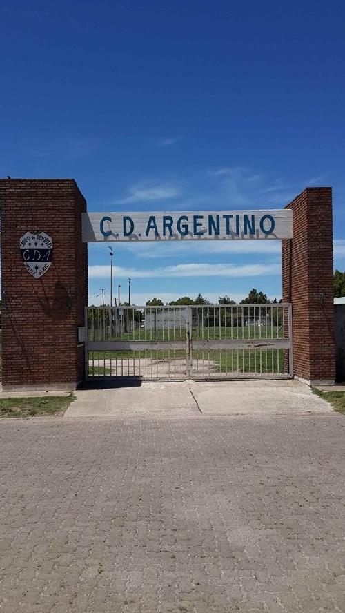 LRF - Ultimo momento: Deportivo Argentino también será local en nuestra ciudad.