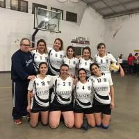 Voley Femenino - Derrota de Club Sarmiento ante Tiro Federal de Bahía Blanca.