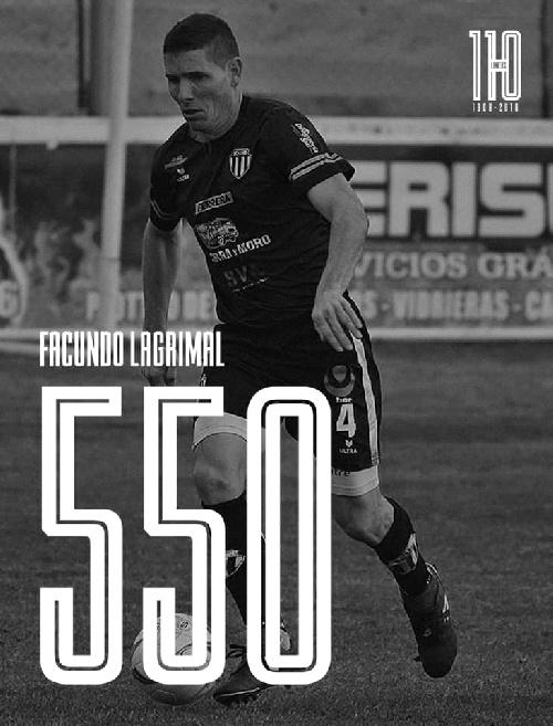 Liga del Sur - En el partido 550 en el Club Liniers, Facundo Lagrimal celebró con victoria.