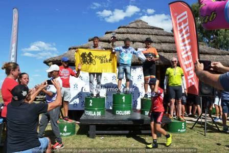 Rural Bike - Daireaux - Jorge Gomez terminó 2° en su categoría.