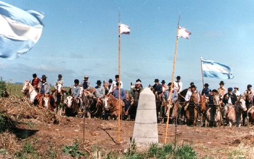 Trigésima Marcha de a caballo por los Fortines del Desierto