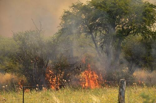 Con el calor, volvieron los incendios a Córdoba