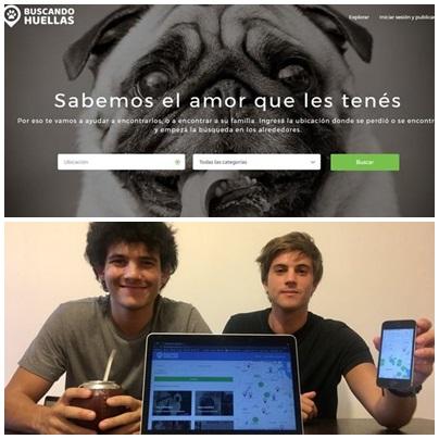 Dos cordobeses crean una plataforma web gratuita para encontrar y adoptar mascotas
