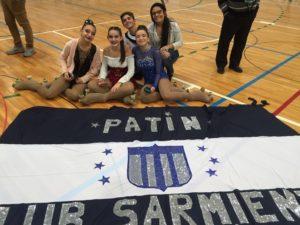 Club Sarmiento participó de un Torneo Regional de Patín en la vecina ciudad de Puán.
