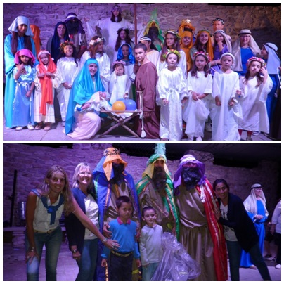 Finalmente los Reyes Magos bajaron por 24 vez en la Ermita de Saavedra