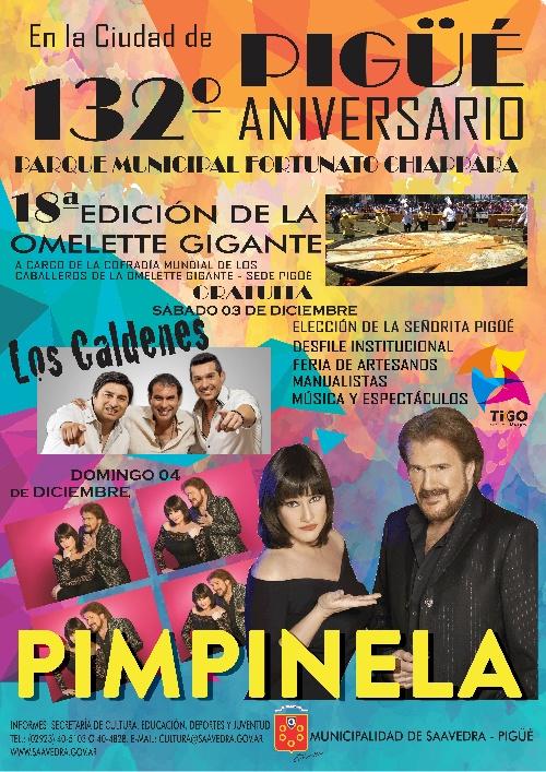 Presentaron el programa de festejos del 132 aniversario de la ciudad de Pigüé
