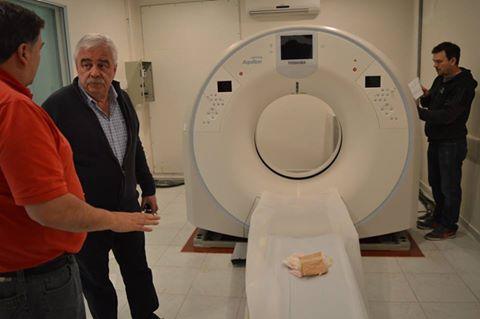 Nueva y moderna aparatología para diagnosticos por imagen en el Hospital Municipal Pigüé