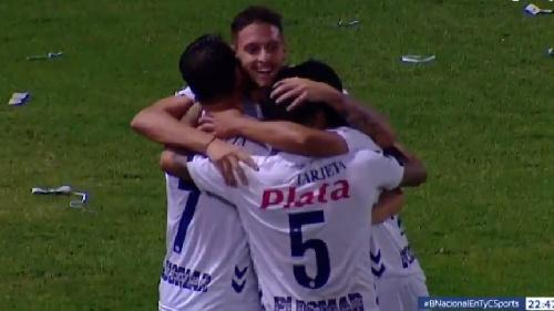 Nacional B . Con dos goles de Leandro González, Quilmes derrotó a Rafaela y queda a un paso de no descender.